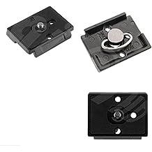 Digital HD Placa para liberación rápida Quick Release Clamp Adapter Compatible Manfrotto 200PL-14QR