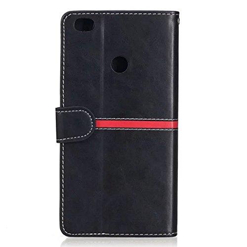 Für Xiaomi Max Case Cover Premium TPU / PU Ledertasche Magnetische Verschluss Nähen Matte Surface Case Mit Geldbörse & Halter & Foto Frame & Card Slots ( Color : A ) C