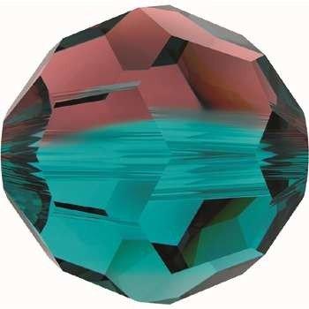 Original Swarovski Elements Beads 5000 MM 8,0 - White Opal (234) ; Diameter in mm: 8.0 ; Packing Unit: 288 pcs. Burg.-Bl. Zircon Bl. (723)