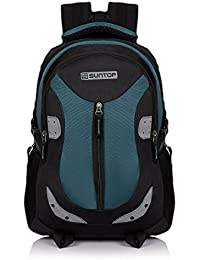 Suntop Neo 9 26 Ltrs Black & Blue Casual Backpack