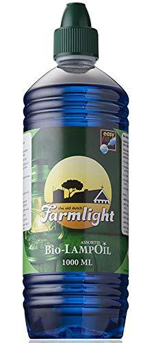 Lámpara de aceite de parafina aceite 1 Litro azules