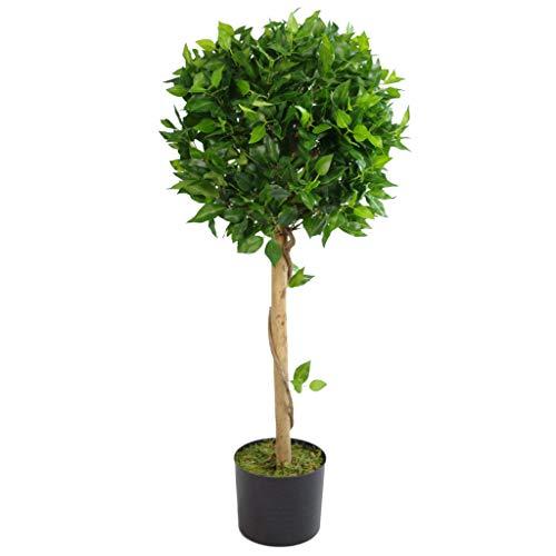 Leaf 100cm Große Grüne Ficus Topiary Künstliche Pflanze Realistische Baum