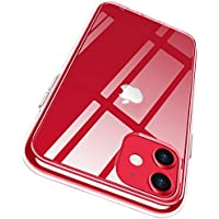 RANVOO iPhone 11 Case, Clear Shockproof iPhone 11 Cover [Certified Military Protection] with Soft TPU Protective Bumper and Transparent Hard PC Back for iPhone 11 (6.1 inch)