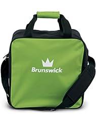 Brunswick TZone Single Tote 1-Ball-Bowling-Tasche für einen Bowlingball