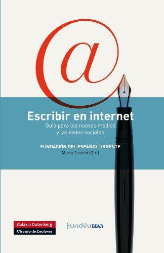 Escribir en internet (Rústica) por Fundeú BBVA