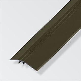 Alfer © Niveauausgleichs Profil Aluminium Bronze 56mm - 1m