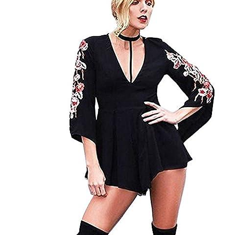 Loveso-Women Clothes Super Jumpsuits, Sandales pour femme noir noir 40 - noir - 42
