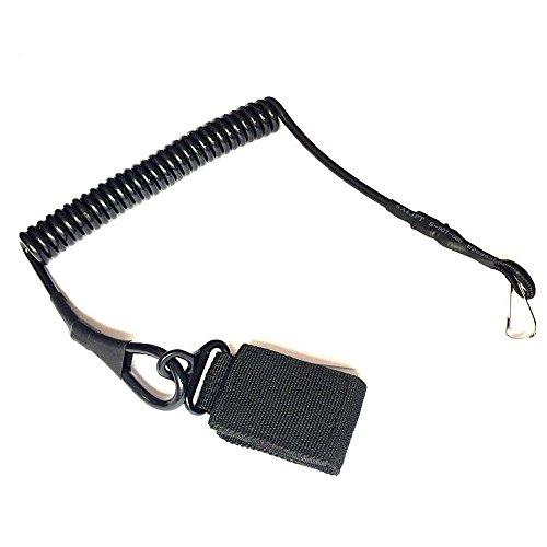 attache-polyvalent-pistolet-tactique-longe-securise-ressort-elastique-sling-bracelet-avec-bande-magi