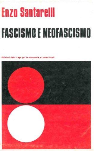 Fascismo e neofascismo.