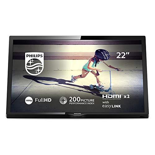 Philips 22PFS4022/12 Fernseher 55 cm (22 Zoll) LED TV (Full HD, HDMI, USB, Triple Tuner)