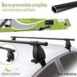 Barras Portaequipajes Para Techo Para Utensilios EasyOne Green Valley Opel Corsa D (3 5/p) 2006/2015