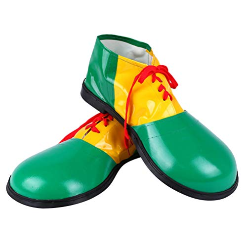 BESTOYARD Clown Schuhe Weihnachten Party Kostüm Stiefel Clown -