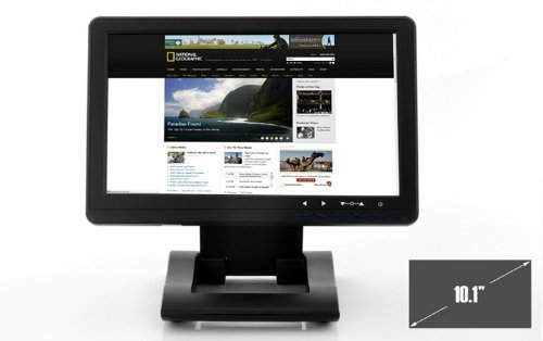 Sourcingbay transportable 101 Inch Touchscreen USB Monitor constructed in speaker units Monitors