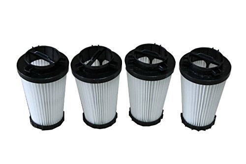 LTWHOME HEPA Filtern für Dirt Devil Dynamite Vakuum F-2 (4 Stück) - F2-vakuum-filter