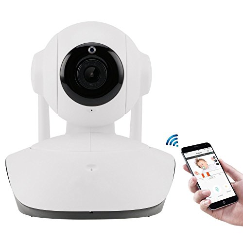 EDSSZ® WIFI IP-Kamera 2.0MP 1080P Zwei-Wege-Pan / Tilt-Video unterstützt, Live Stream HD Home Wireless Surveillance Intercom Baby Pet Remote Monitoring Kindermädchen Kamera mit Nachtsicht, kostenlose iOS Android APP SB-17C5 (Kamera Varifocal Ip 5)
