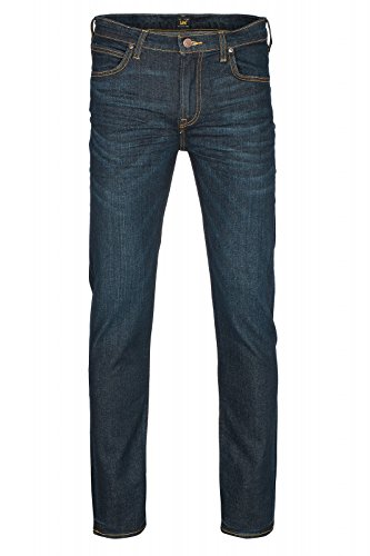 lee-jeans-arvin-regular-tapered-fit-jeans-33r-deep-sea