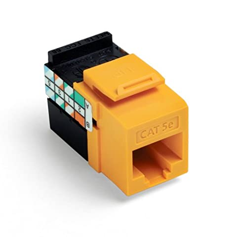 Leviton QuickPort GigaMax 5E connecteur, Cat 5e, 5G108-RY5