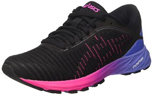 Asics Women's Dynaflyte 2 Running Shoes, Black (Black/Hot Pink/Persian Jewel), 7.5 UK...