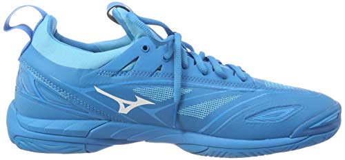 Mizuno Herren Shoe Waver Mirage Sneakers, Blau (Bjewel/Wht/Hocean 001), 46.5 EU - 6