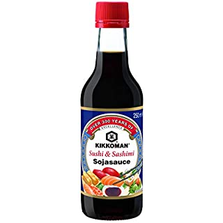 KIKKOMAN Soja-Sauce Sushi und Sashimi, 1er Pack (1 x 250 ml)
