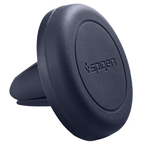 Cargador de teléfono del coche, Spigen Kuel [UPGRADE Ventilador de aire magnético]...