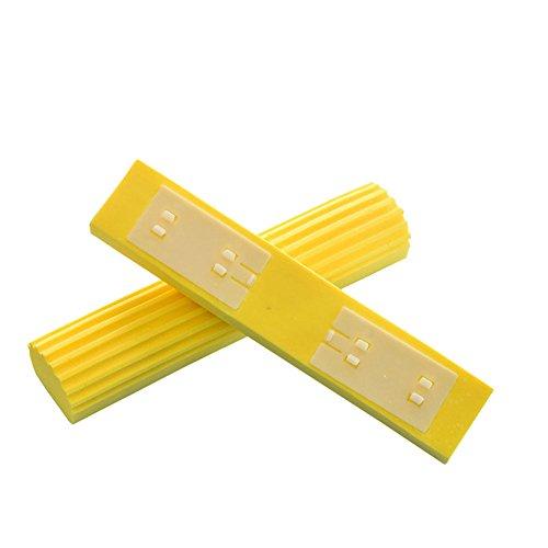 Fayear Absorbent Schwamm Mop Kopf Ersatzschwamm-Pack of 3 Mop Refills Pad (Schwamm-mop-kopf)