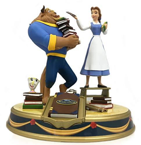 Preisvergleich Produktbild Diorama Die Schöne und das Biest Bücherei Szene Finders keypers ca. 13 cm hoch