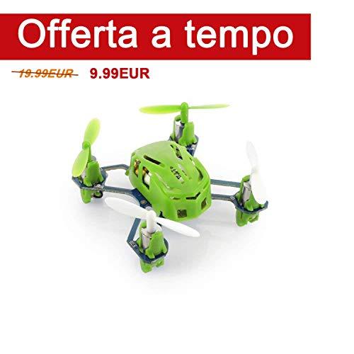 Hubsan H111 NANO Q4 Mini Quadricotteri RC Drone - più piccolo del Mondo
