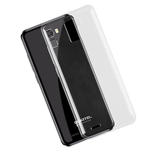 CiCiCat Oukitel K5000 Hülle Handyhüllen, TPU Silikon Back Cover Case Schutz Hülle Tasche Schutzhülle Für Oukitel K5000. (Oukitel K5000 5.7'', Transparent)