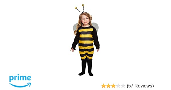 Kids Animal Bumble Bee Bug Girls Toddler Fancy Dress Costume Party Outfit SALE