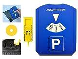Gibtplus Parkscheibe Parkuhr mit Reifenprofiltiefenmesser