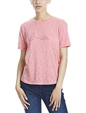Bench Short Slv Top, Camiseta Para Mujer