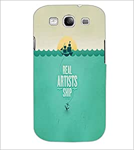 PrintDhaba Quote D-2998 Back Case Cover for SAMSUNG GALAXY S3 (Multi-Coloured)