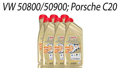 Castrol 0W20 Titanium Motoröl für den Ölwechsel am Seat Ateca mit TSI Benzinmotoren