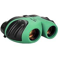 Juguetes para niños, Binoculares para niños, TOG Juguetes para niños de 3-12 años 8x21 Binoculares compactos y pequeños para observación de aves Amplio campo de visión Verde TG01