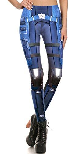 Belsen - Legging - Femme multicolore Leggings L Leggings