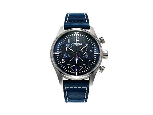 Alpina Geneve Startimer Pilot Quartz Chronograph AL-371NN4S6 Cronógrafo para Hombres