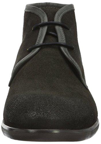 Hudson London Herren Lydon Suede Chukka Boots Grau (Grey)