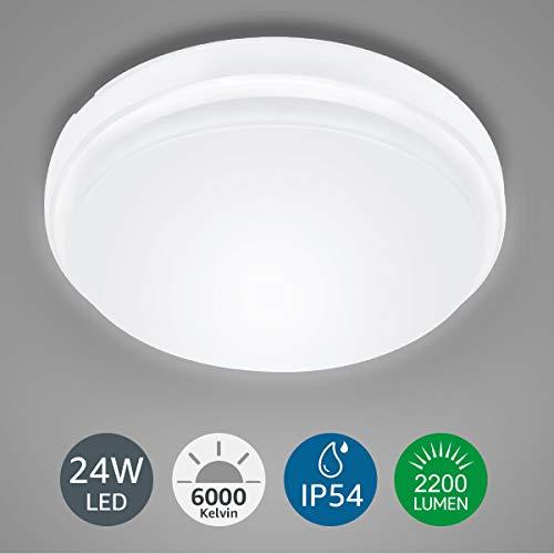 LE Plafón LED Lámpara Techo 24W Equivalente 200W
