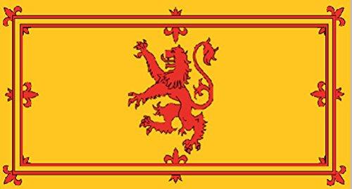 Bandera de Escocia con Dragón Escocés Furioso de 152.4 cm x 91.4 cm (5' x 3')