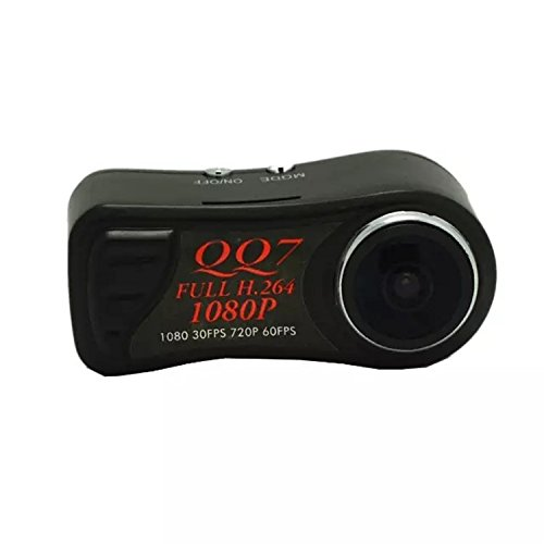 FULL HD 1080p Überwachungskamera mit Nachtsichtfunktion Bewegungserkennung (motion detection Dashcam Video- und Fotoaufnahmen möglich | für die dauerhafte Überwachung durch Netzteil und Loop-recording geeignet| Sicherheitskamera | Spy-Cam Spionage Kamera | HOKTec Farbe: schwarz EC127