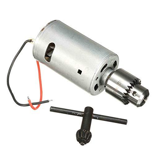 "NO LOGO WJN-Motor, 1pc Sólido Mano de Bricolaje Taladro eléctrico 555 6V-12V DC Motor de Alto par 12000rpm Hecho en casa (tamaño : 58mm*36mm(2.3""*1.6""))"