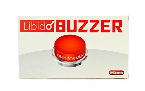 Libido Buzzer Red Männer-Kapseln – 10 Männer-Pillen in Premium Qualität I Männer-Stärkungs-Mittel I pflanzliches und rezeptfreies Präparat für den Mann I 100% Natürlich – Für Lust, Liebe, Leidenschaft und mehr …