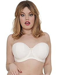 6558a527f0fb1 Curvy Kate Women Luxe Strapless Multiway Everyday Bra