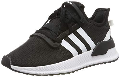 adidas Unisex-Kinder U_path Run J Gymnastikschuhe, Schwarz (Core Black/Ftwr White/Shock Red), 36