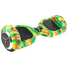 Feicuan Carcasa de silicona Waterproof protección Cover Skin para 6.5 inch 2 Wheels Electric Balance Scooter -Yellow