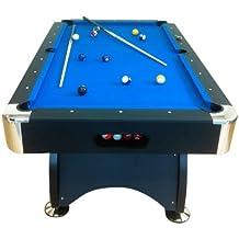 """Tavolo da biliardo-carambola """"Blue sea"""" 7 ft ACCESSORI PER CARAMBOLA PANNO blu - NUOVO billiard table (BIGLIE NUMERATE + TRIANGOLO + 2 STECCHE + GESSETTI GIA"""