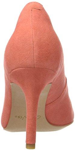 Clarks  Dinah Keer, Escarpins femme Orange (Coral Suede)
