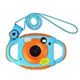 Funkprofi Kinder Kamera Kid Cam Mini Digital Camera Camcorder 5 Megapixel 1,77 Zoll Display Geschenk und Spielzeug für Kinder (Orange)