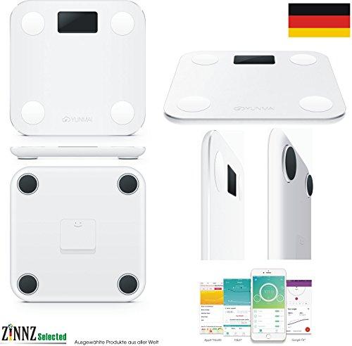 YUNMAI MINI Smart Personenwaage Körperfettwaage Körperanalysewaage smart Scale 3KG-180KG # ZINNZ SELECTED #